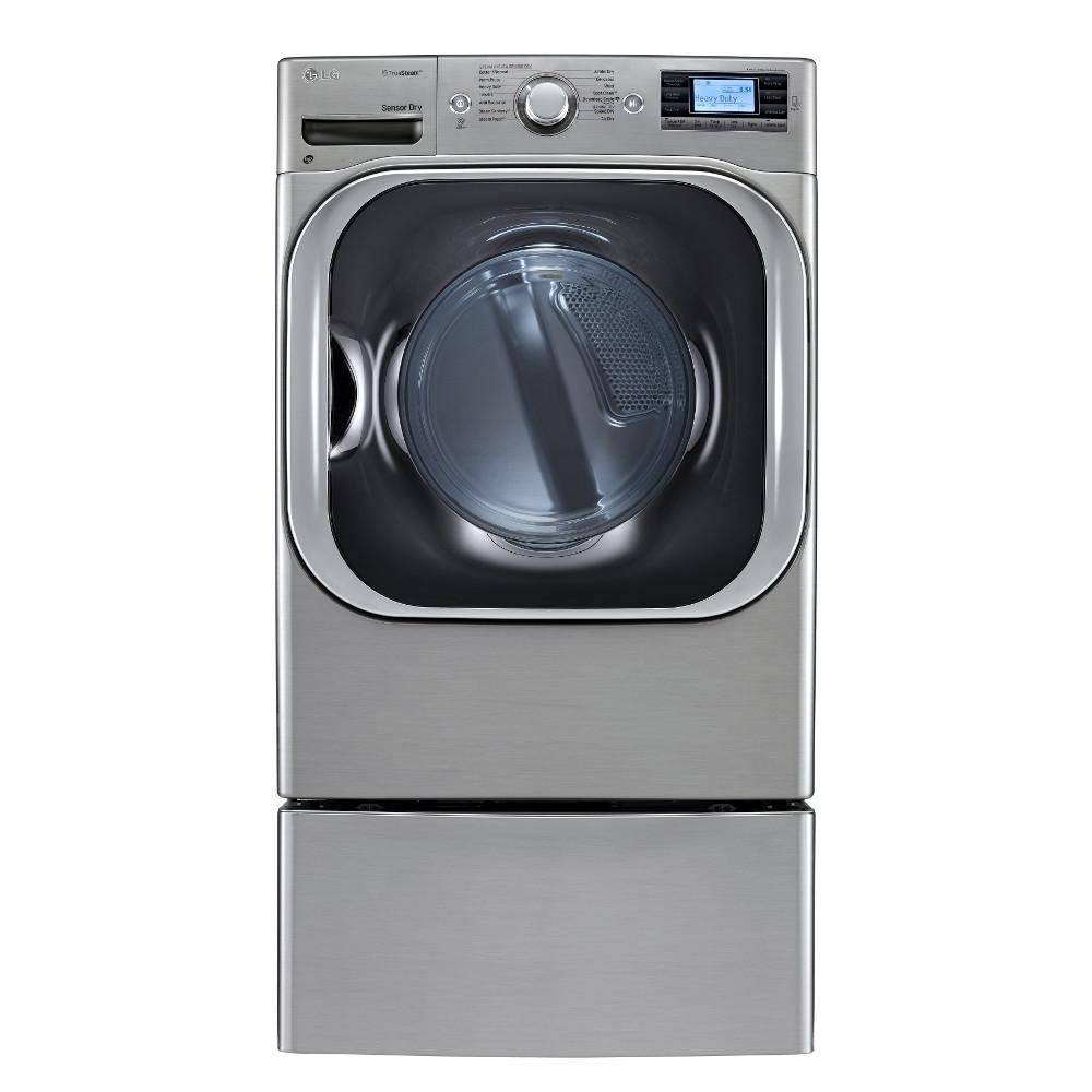 LG Appliances Dryers 9.0 Cu. Ft. Front-Load Electric Dryer - Item Number: DLEX8500V