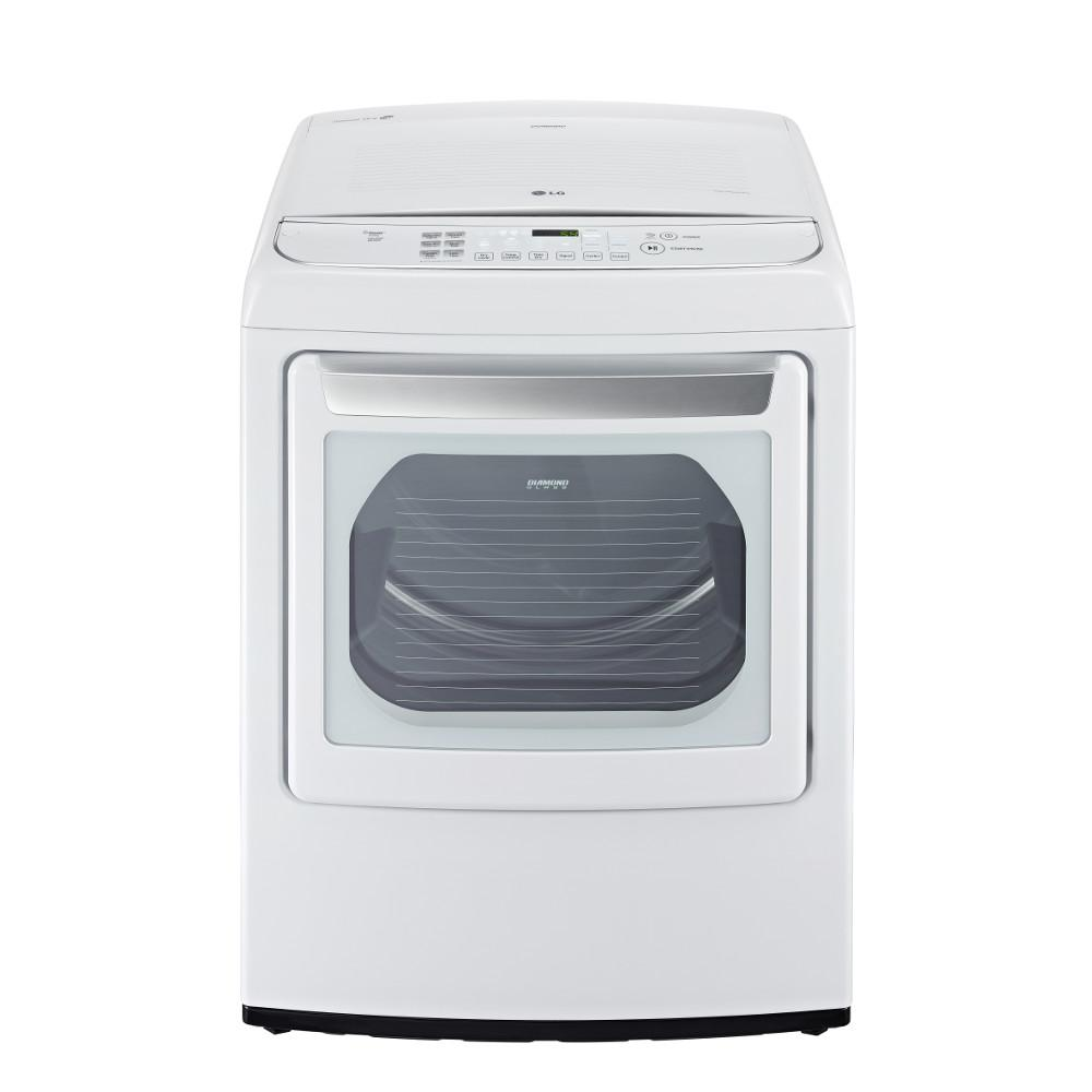 LG Appliances Dryers 7.3 Cu. Ft. Front-Load Electric Dryer - Item Number: DLEY1701W