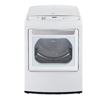 LG Appliances Dryers 7.3 Cu. Ft. Capacity HE Electric Steam Dryer - Item Number: DLEY1701WE