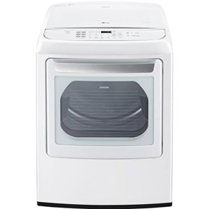 LG Appliances Dryers 7.3 Cu. Ft. Front Control Electric Dryer