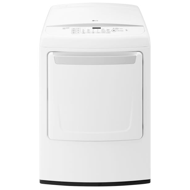 LG Appliances Dryers 7.3 Cu. Ft. Capacity Gas Dryer - Item Number: DLG1502W