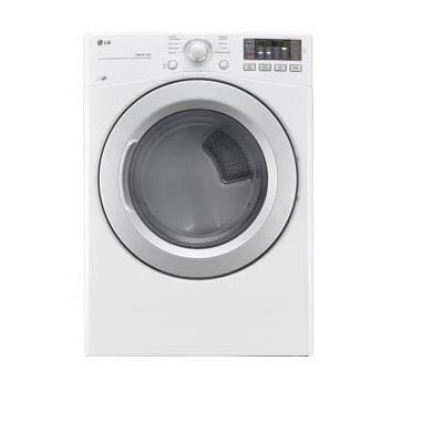 LG Appliances Dryers 7.4 Cu. Ft. Capacity Gas Dryer - Item Number: DLG3171W