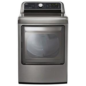 LG Appliances Dryers 7.3 cu. ft. Super Capacity Gas Dryer