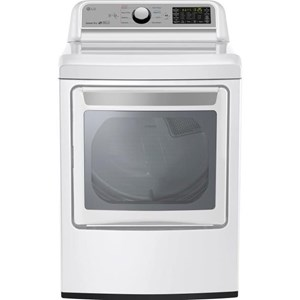 LG Appliances Dryers 7.3 cu. ft. Super Capacity Gas Dryer