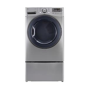 LG Appliances Dryers 7.4 Cu. Ft. Front Load Gas Steam Dryer