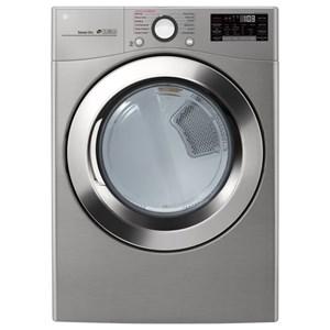 LG Appliances Dryers 7.4 cu. ft. Smart Wi-Fi Gas SteamDryer?