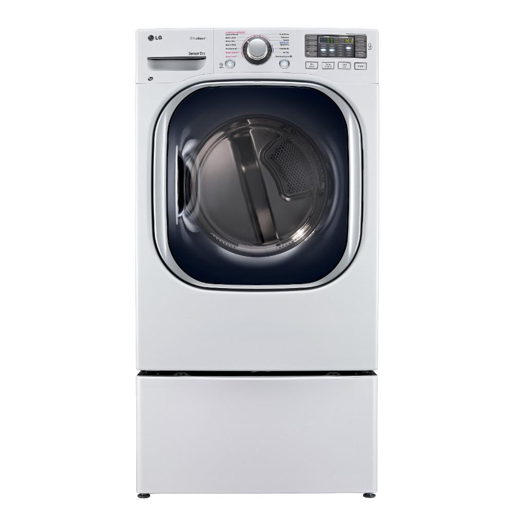 LG Appliances Dryers 7.4 Cu. Ft. Ultra Large Capacity Gas Dryer - Item Number: DLGX4271W