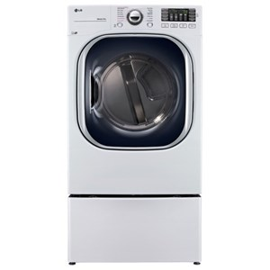 LG Appliances Dryers 7.4 Cu. Ft. TurboSteam™ Gas Dryer