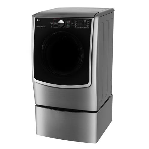 LG Appliances Dryers 7.4 Cu. Ft. Capacity TurboSteam® Gas Dryer - Item Number: DLGX5001V