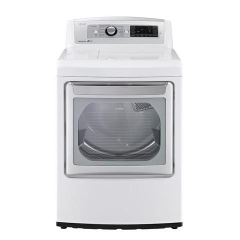 LG Appliances Dryers 7.3 Cu. Ft. Capacity Gas Steam Dryer - Item Number: DLGX5781WE