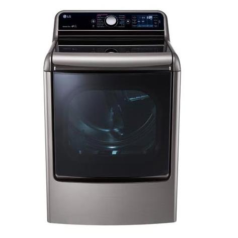 LG Appliances Dryers 9.0 Cu. Ft. Capacity Gas Steam Dryer - Item Number: DLGX7701VE