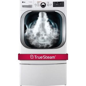 LG Appliances Dryers 9.0 Cu. Ft. Steam™ Technology Gas Dryer