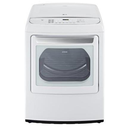 LG Appliances Dryers 7.3 Cu.Ft. Ultra Large Capacity Dryer - Item Number: DLGY1702W