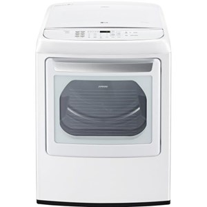 LG Appliances Dryers 7.3 Cu. Ft. Front Control Gas Dryer