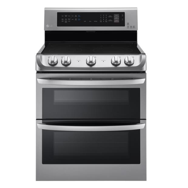 LG Appliances Electric Ranges 7.3 Cu. Ft. Electric Double Oven Range - Item Number: LDE4415ST