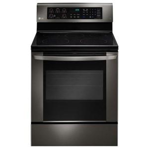 LG Appliances Electric Ranges 6.3 cu. ft. Single Oven Electric Range