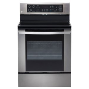LG Appliances Electric Ranges 6.3 cu. ft. Single Oven Electric Range
