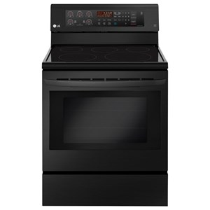 LG Appliances Electric Ranges 6.3 cu. ft. Electric Single Oven Range