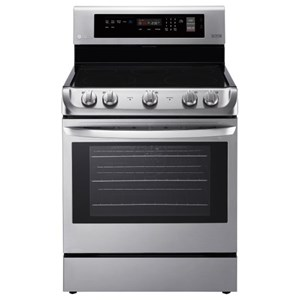 LG Appliances Electric Ranges 6.3 cu. ft. Electric Convection Range
