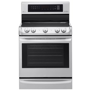 LG Appliances Electric Ranges 6.3 cu. ft Electric Single Oven Range