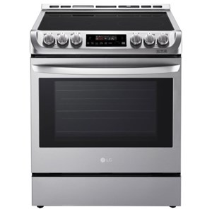 LG Appliances Electric Ranges 6.3 Cu.Ft. Electric Slide Convection Range