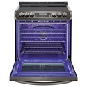 LG Appliances Electric Ranges- LG 6.3 cu. ft. Electric Slide-in Range with ProBake Convection™ and EasyClean®