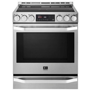 LG Appliances Electric Ranges LG Studio 6.3 Cu.Ft. Electric Slide-in Range