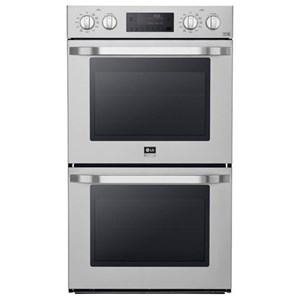 LG Appliances Electric Wall Ovens 4.7 cu. ft. Large Capacity Double Wall Oven