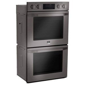LG Appliances Electric Wall Ovens- LG 4.7 cu. ft. Double Wall Oven