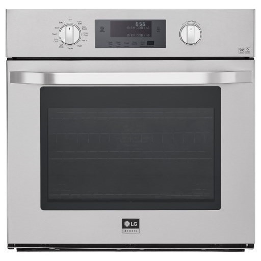 LG Appliances Electric Wall Ovens 4.7 cu. ft. Single Wall Oven - Item Number: LSWS306ST