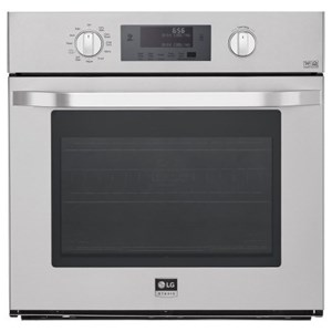 LG Appliances Electric Wall Ovens 4.7 cu. ft. Single Wall Oven