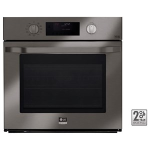 LG Appliances Electric Wall Ovens- LG 4.7 cu. ft. Single Wall Oven