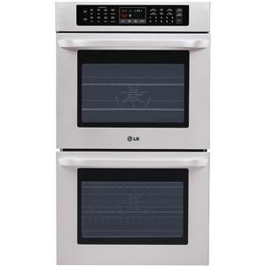 """LG Appliances Electric Wall Ovens 30"""" Built-In Electric Double Wall Oven"""