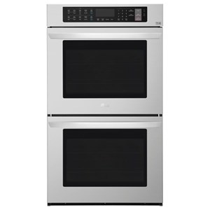 LG Appliances Electric Wall Ovens 9.4 cu. ft Total Capacity Double Wall Oven
