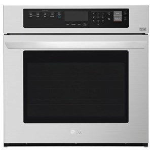 LG Appliances Electric Wall Ovens- LG 4.7 cu. ft. Built-In Single Wall Oven