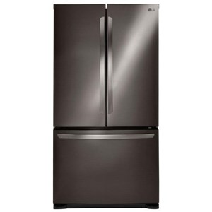 LG Appliances French Door Refrigerators 20.7 Cu. Ft. French Door Refrigerator
