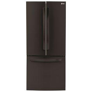 LG Appliances French Door Refrigerators 21.8 Cu. Ft. French Door Refrigerator