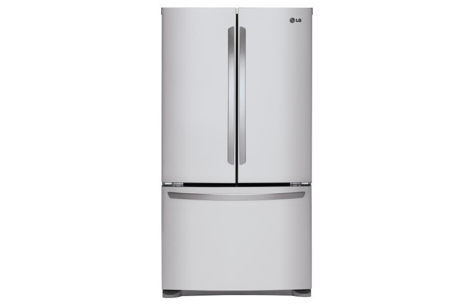 LG Appliances French Door Refrigerators 25 cu. ft. Mega Capacity 3- Door French Door - Item Number: LFCS25426S