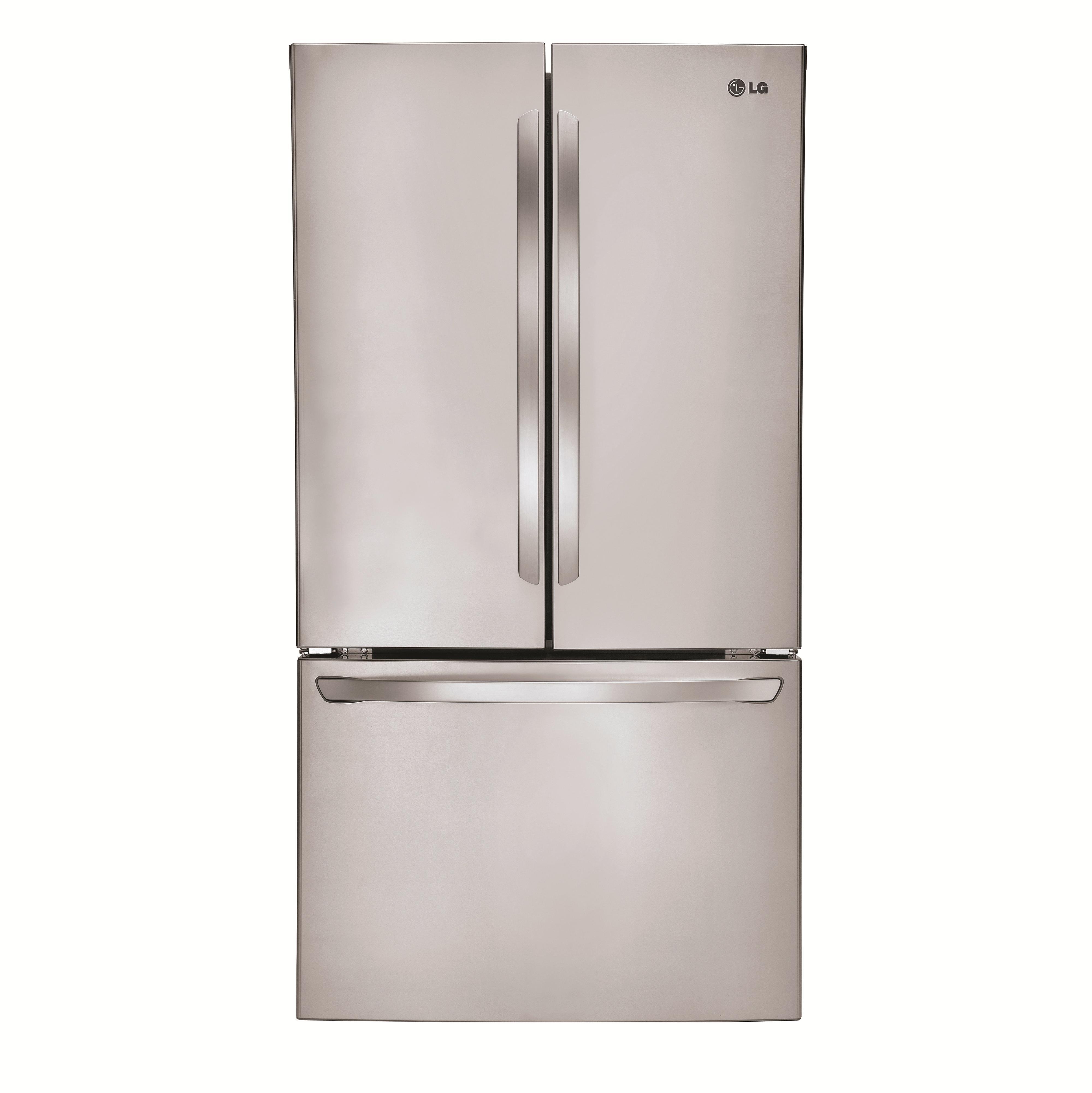 LG Appliances French Door Refrigerators 31 Cu. Ft. French Door Refrigerator - Item Number: LFCS31626S