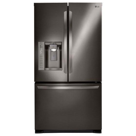 LG Appliances French Door Refrigerators 24.7 Cu. Ft. French Door Refrigerator - Item Number: LFX25973D
