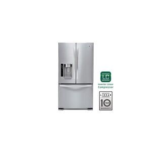 LG Appliances French Door Refrigerators 24 cu. ft. Ultra Capacity 3-Door Refrigerato