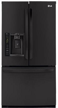 LG Appliances French Door Refrigerators 24.7 Cu. Ft. French Door Refrigerator - Item Number: LFX25974SB