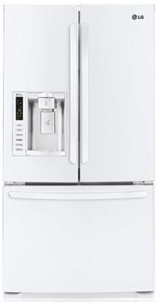 LG Appliances French Door Refrigerators 24.7 Cu. Ft. French Door Refrigerator - Item Number: LFX25974SW
