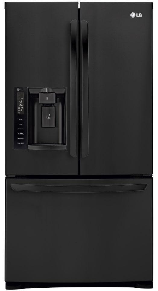 LG Appliances French Door Refrigerators 28 Cu. Ft. French Door Refrigerator - Item Number: LFX28968SB