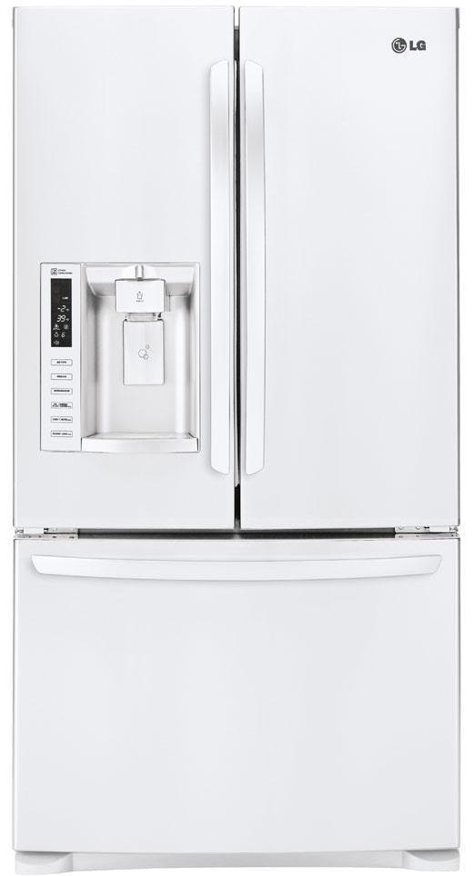 LG Appliances French Door Refrigerators 28 Cu. Ft. French Door Refrigerator - Item Number: LFX28968SW