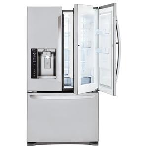 LG Appliances French Door Refrigerators 24 Cu. Ft 3 Door French Door Fridge