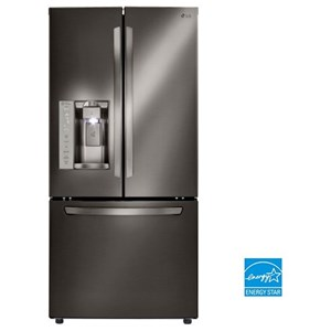 LG Appliances French Door Refrigerators 24.2. Cu.Ft. 3-Door French Door Refrigerator