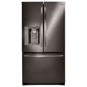 LG Appliances French Door Refrigerators 24 cu. ft. 3-Door French Door Refrigerator