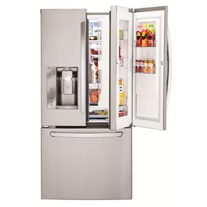 LG Appliances French Door Refrigerators 24 Cu. Ft. 3 Door French Door Fridge
