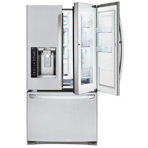 LG Appliances French Door Refrigerators 27 Cu. Ft. 3 Door French Door Fridge